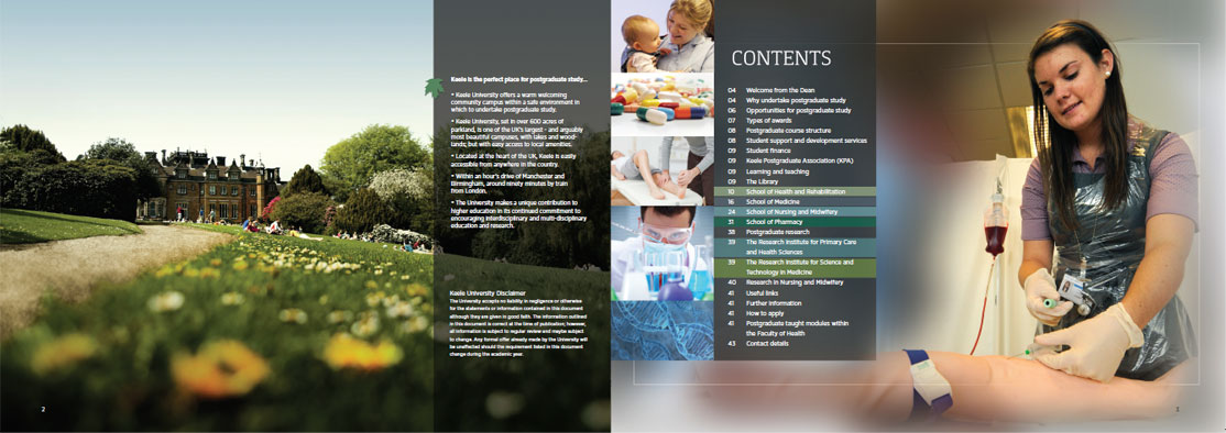 Faculty of Health brochure